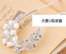 韓國頭飾蝴蝶結新娘發飾