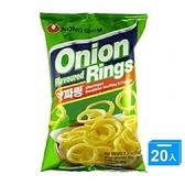 農心洋蔥圈-原味80g*20【愛買】