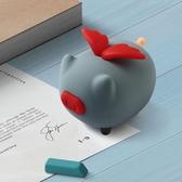 藍芽音響 少女心卡通網紅藍芽音箱迷你便攜隨身動物豬可愛萌創意小音響禮品 2色