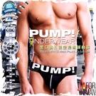 Pump!黑白網孔後空提臀運動褲 後空褲 性感 猛男必備 JS0021
