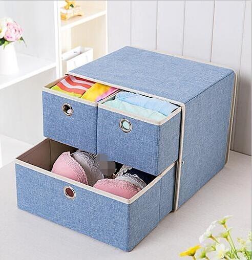 內衣收納盒抽屜式整理箱