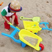 兒童大號沙灘推車玩具車套裝寶寶玩沙子挖沙漏鏟子工具決明子 igo 小時光生活館