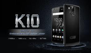 歐奇 11000毫安 Oukitel K10 6吋螢幕 大電量手機 6+64GB NFC 臉部 指紋辨識 安卓 繁體中文