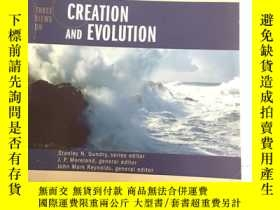 二手書博民逛書店Three罕見Views on Creation and Evo