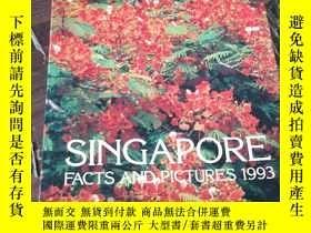 二手書博民逛書店singapore罕見facts and pictures 19
