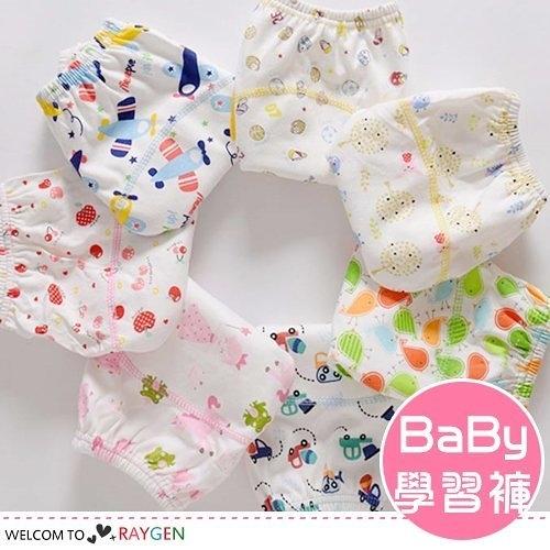 卡通滿版印花寶寶學習褲 訓練褲 尿褲 80-100