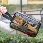 防水化妝包女 大容量旅行化妝品收納袋手提便攜pvc透明洗漱包