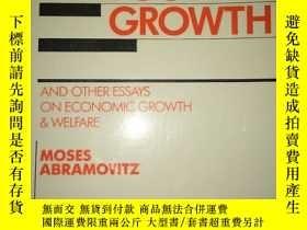 二手書博民逛書店S24罕見Thinking about growth:and o