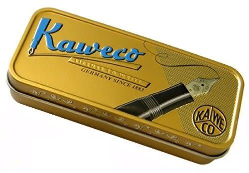 德國KAWECO DIA 黑桿銀夾鋼筆