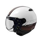 【東門城】ASTONE KSS DD70(白黑) 3/4 半罩 安全帽 飛行帽