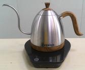 【Brewista Artisan】 細口壺,可控制溫度的咖啡手沖壺-600ml (不鏽鋼色)贈蘇門答臘優質曼特寧1磅