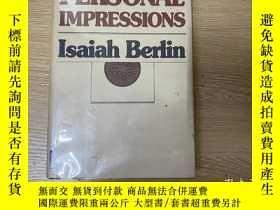 二手書博民逛書店Personal罕見Impressions 伯林《個人印象》,董橋 說這是伯林最好看的一本書,英文