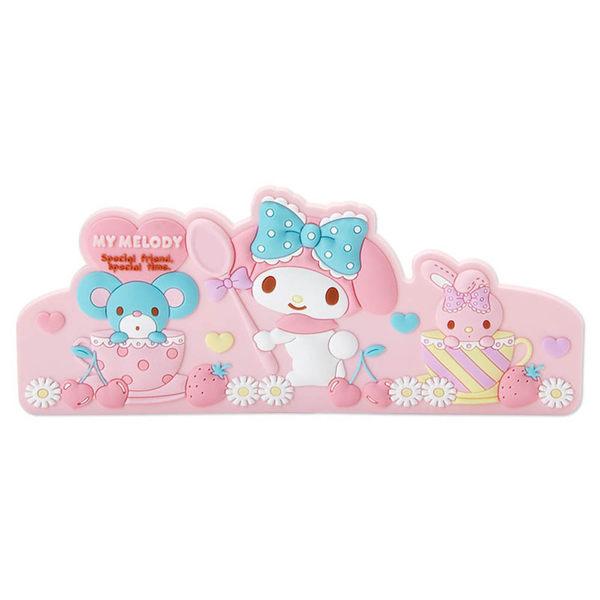 Sanrio 美樂蒂可磁吸式造型磁鐵夾(甜蜜午茶)★funbox★ 607550A