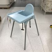 宜家兒童餐椅寶寶餐椅便攜式可堆疊寶寶吃飯椅非實木可拆卸 居享優品