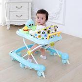嬰兒童寶寶學步車6/7-18個月多功能防側翻手推可坐帶音樂助步車  無糖工作室