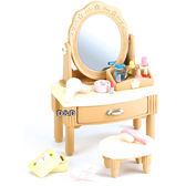 《 森林家族 - 日版 》圓木化妝台╭★ JOYBUS玩具百貨