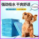狗狗尿墊隔尿片100片小狗尿不濕除臭加厚寵物用品廁所導尿布吸水 町目家