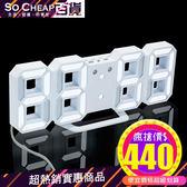 3D立體LED數字時鐘 鬧鐘 電子鐘 數字鐘 USB供電 韓劇 同款 禮物