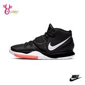 NIKE KYRIE 6 (GS) 大童 成人女款 籃球鞋運動鞋親子鞋休閒鞋 P7194#黑白◆OSOME奧森鞋業