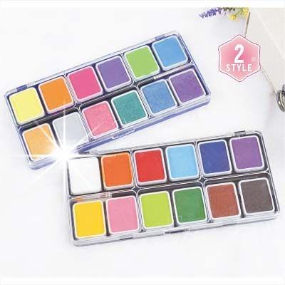 【舞台效果】身體彩繪專用塑性顏料-12色(2款) [96600]