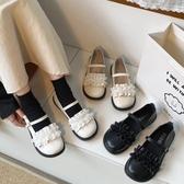 娃娃鞋 ins復古小皮鞋女春季新款百搭原宿軟妹厚底大頭 - 古梵希