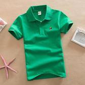 男童短袖POLO衫純棉T恤2018夏裝新款韓版童裝兒童女寶寶半袖上衣   夢曼森居家