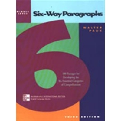 SIX-WAY PARAGRAPHS:Middle Level(調價)