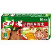 康寶 排骨風味湯塊(10塊裝) 100g/盒