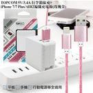TOPCOM 3.4A 雙輸出行李箱旅充...