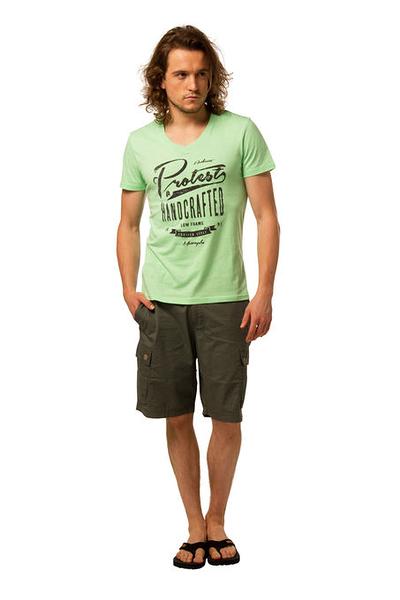 PROTEST 男 短袖T恤 (綠霓虹) ATTACK T-SHIRT