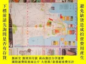 二手書博民逛書店罕見舊地圖-AOA香港街道圖英文版(1985年6月 7月)4開8品Y253751 出版1985