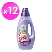 【韓國AK】WOOL精緻衣物洗衣精-持久花香型(1LX12入)