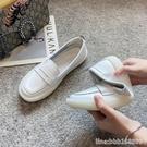 護士鞋 真皮護士鞋女軟底小白媽媽鞋新款夏季一腳蹬透氣不累腳工作鞋 星河光年