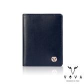 【VOVA】  凱旋II系列3卡窗格IV紋名片夾(深邃藍)VA116W010NY