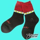 【PolarStar】兒童 保暖雪襪『黑色』P18613 戶外.登山.保暖襪.彈性襪.休閒襪.長筒襪.襪子.男版.女版