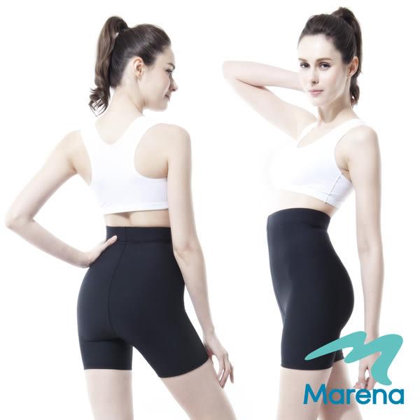 【美國原裝MARENA】魔力輕塑高腰三分塑身褲/顯瘦機能安全褲