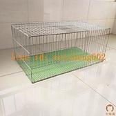 加粗加密養殖籠兔籠家用籠子鐵絲籠運輸籠大號籠【宅貓醬】