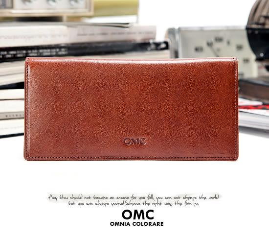 OMC - 原皮魅力真皮款經典14卡2照長夾