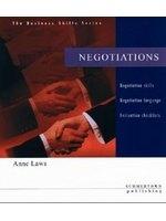二手書博民逛書店 《Negotiations (Business Skills S.)》 R2Y ISBN:1902741242│AnneLaws