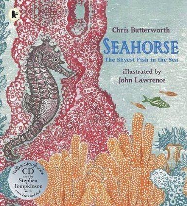 【麥克書店】SEAHORSE THE SHYEST FISH IN THE SEA /英文繪本附CD 《主題:自然科學》