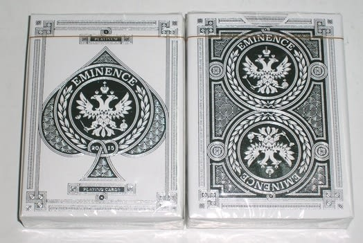 【USPCC撲克館】EMINENCE SILVER Playing Cards