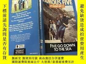 二手書博民逛書店famous罕見five go down to the sea:著名的五人下海:Y200392