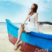 高跟女士人字拖 夏季厚底坡跟平底韓版潮流防滑沙灘涼拖鞋   奇思妙想屋