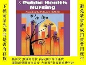 二手書博民逛書店Community罕見& Public Health Nursi