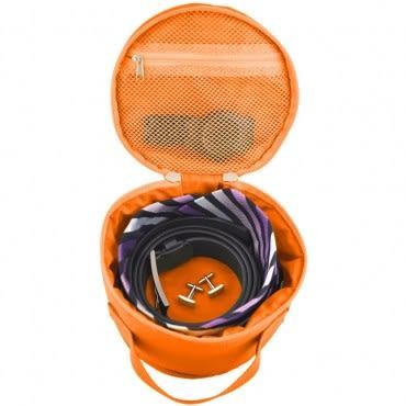 Lapoche 圓筒整理袋-橘