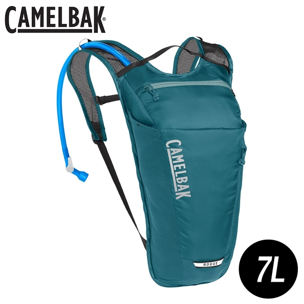 【CamelBak 美國 女 ROGUE LIGHT 7 輕量越野水袋背包《礦物藍》】CB2406401000