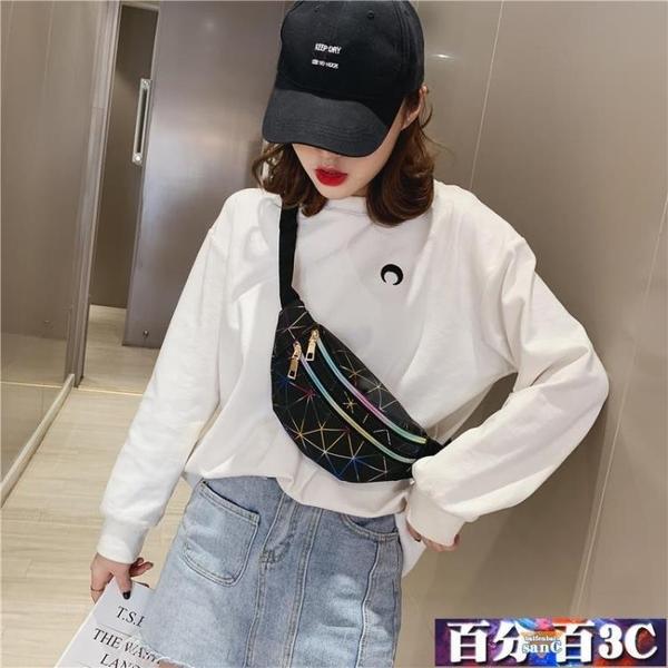 ins胸包 網紅小包包女2020新款潮斜挎百搭時尚韓版洋氣胸包少女腰包女 百分百
