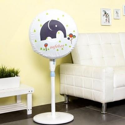 時尚可愛電風扇罩1 可愛圓形防灰塵電暖爐風扇罩
