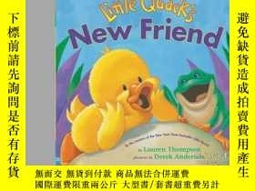 二手書博民逛書店Little罕見Quack s New FriendY362136 Photo Credit: Lau...