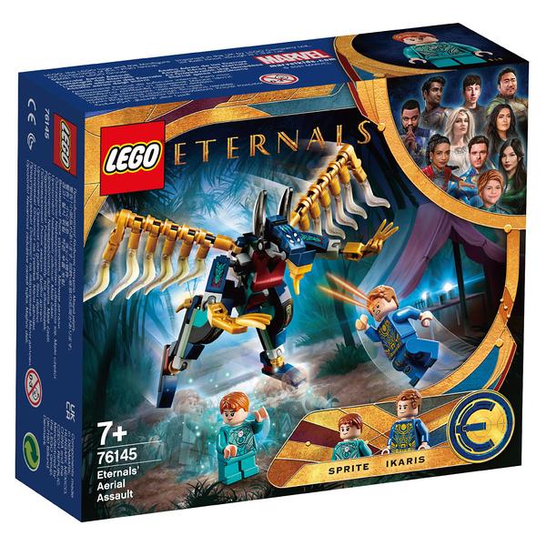 LEGO樂高 76145 Eternals' Aerial Assault 玩具反斗城